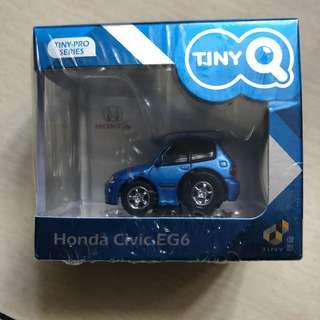 Tiny Q Honda Civic EG6 Captiva Blue Pearl