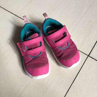 Puma pink rubber shoes size US 9.5C