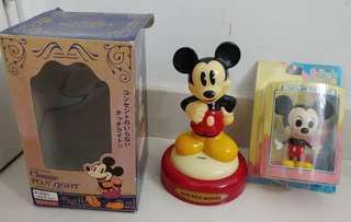 米奇 小夜燈 米奇 模型 購自日本 mickey mouse