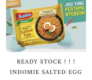 100% BRAND NEW ORI INDOMIE SALTED EGG MIE KERITING PREMIUM COLLECTION