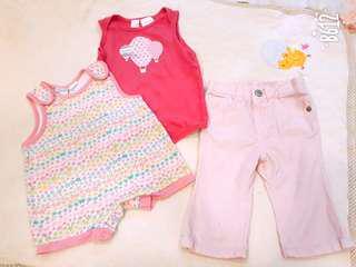 Baby Girl Romper N Jean