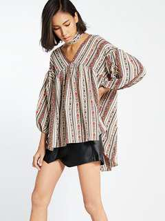 [REPRICED] Pomelo aztec top