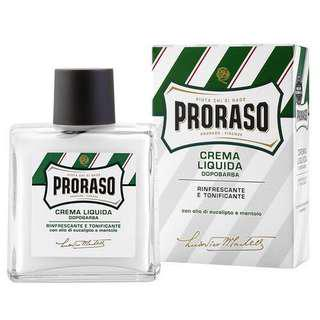 Proraso Liquid Aftershave Cream with Eucalyptus and Menthol, 100ml