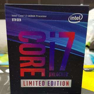 INTEL I7-8086K (TOP 8TH GEN PROCESSOR)
