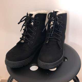 Winter boot black size 38