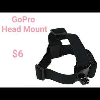 GoPro Head Mount
