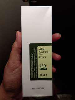 Cosrx aloe soothing sun cream spf 50++