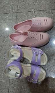 5 to 7 yo Girl Shoes  princess type, flats, heels