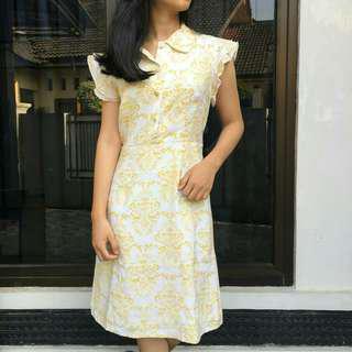 Floral dress #mauiphoneX