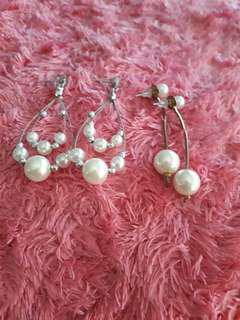 Take all : pearly earrings (freong)