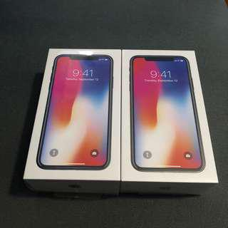 Iphone X 256gb Brandnew Sealed