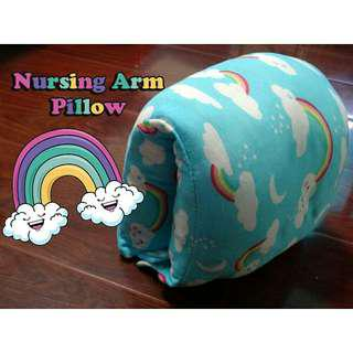Nursing Arm Pillow Breastfeeding Travel Reversible