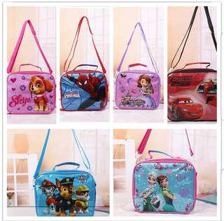 Disney Sophia Insulated Lunch Bags