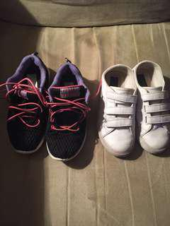 Sketchers and polo running shoes