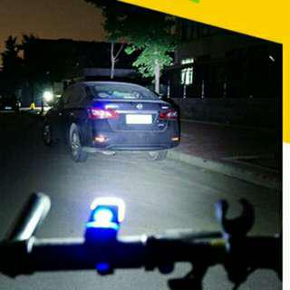 Cree Bicycle Front Light 180 lumen USB Rechargeable