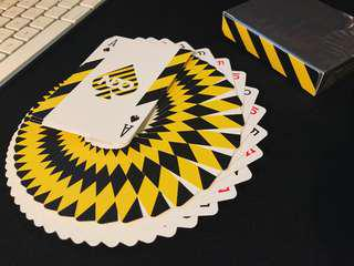 Broken Border Playing Cards By NDO