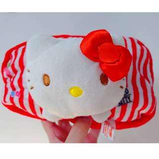 【現貨】Hello Kitty 大容量卡通化妝包/收納包/筆袋 雙面絨毛
