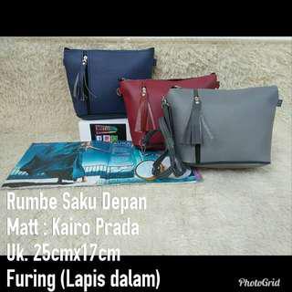 sling bag rumbe lucu