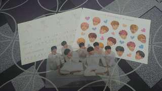 [WTS] BTS Love Yourself Albums Stickers + Standee
