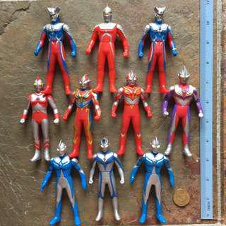 Ultraman Set of 10