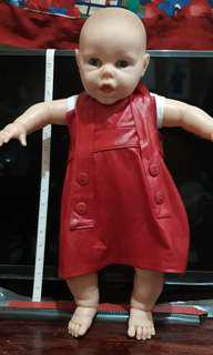 "20"" Life size Berenguer Doll Blue Eyed"