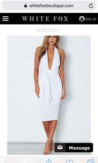 White fox boutique Pia dress