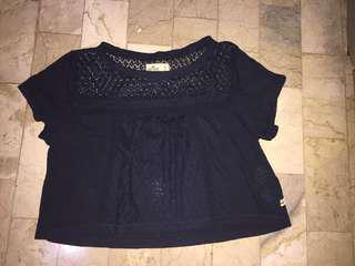 Hollister Crop Blouse (Never been used)