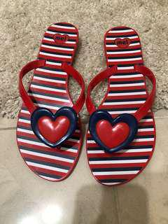Melissa 膠拖鞋