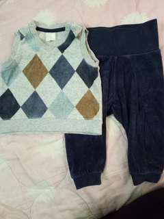 H&M sets for Boys 4-6Months