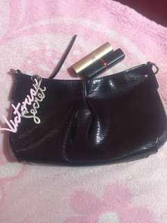 Original Victoria Secret pouch from canada with free 2 lippy ( loreal and maybelline)