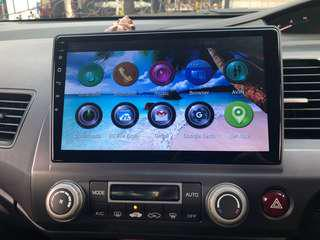 Android Tablet Radio With GPS HONDA Civic