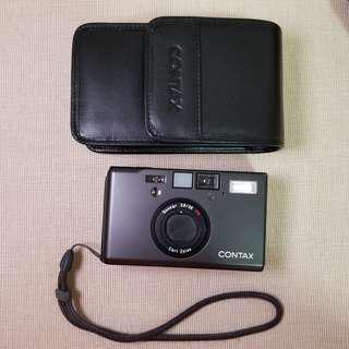 菲林相機 Contax T3 黑色連皮套