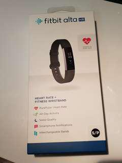 Fitbit Alta HR Black and Silver
