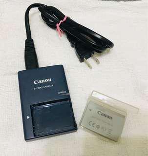 🚚 Canon CB-2LXE 原廠充電器 及 NB-5L電池一顆