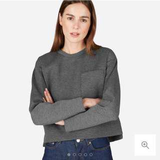 Everlane Street Fleece Pocket Pullover XS (Size 6/8)