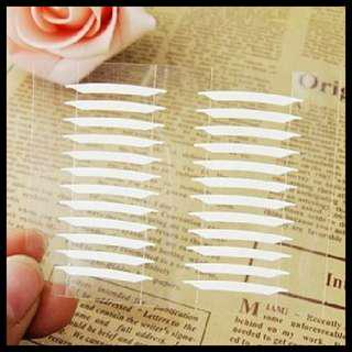 Double-sided eyelid clear sticker