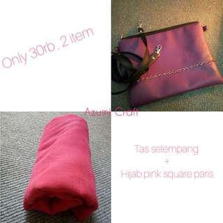 Mix Sale Hijab & Sling Bag