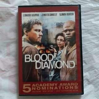 DVD 港版 血鑽 Blood Diamond
