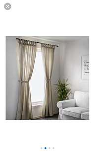 Lenda ikea curtain