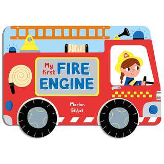 My First Fire Engine 🚒交通工具圖書