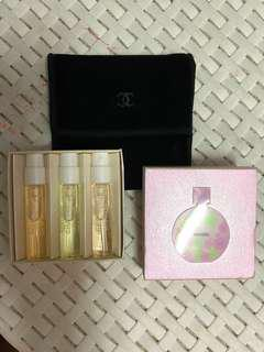 Original CHANEL Chance Collection Sampler for Her