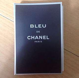 Original CHANEL Blue Men's Sample Perfume