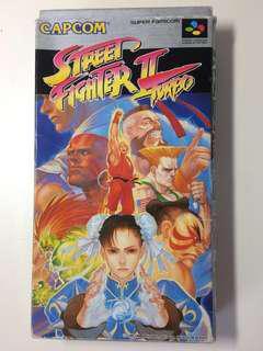 絕版!超級任天堂 CAPCOM Street Fighter II Turbo 街頭霸王