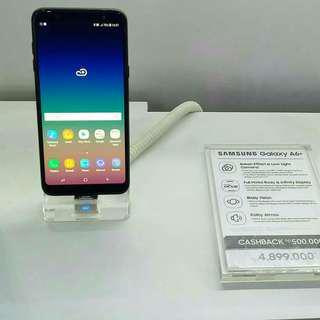 Kredit Hp Proses 3 Menit Samsung A6 plus Bunga 0%
