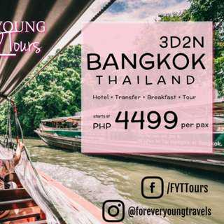3D2N Bangkok Thailand Tour Package
