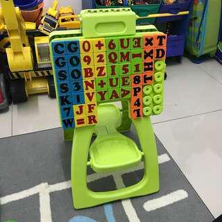 Alphabetical board