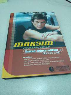 Maksim variation Piano cd+dvd連琴譜