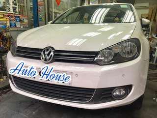 12'VW  -更換左右ABS感應器連電腦reset -Icer前剎車皮一套 -Bembo 後剎車皮一套 預約及查詢請電:31739102