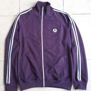 Fredperry twin track top jacket no Adidas