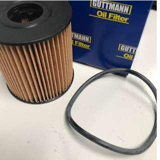 BMW OIL FILTER Guttmann 501660111, 11427622446, 11427557012 BMW Z4